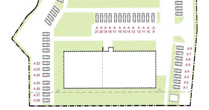 Miejsca parkingowe, Etap A, Osiedle Navigator Kołobrzeg ul. Rybacka 12